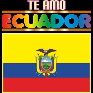 I LOVE YOU ECUADOR