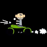 Bikerboy grün