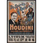 Houdini - do spirits return
