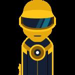 perso-goldrobot