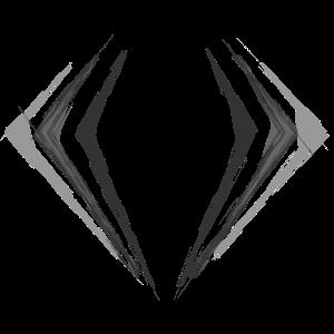 Diamant Skizze Logo Tribal Diamond Symbol Abstrakt