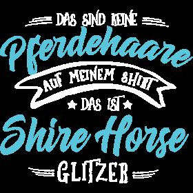 Glitzer Shire Horse