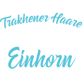 Glitzer Einhorn