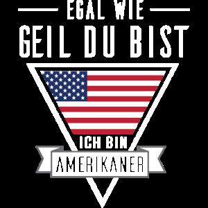 Ich bin Amerikaner - USA Shirt