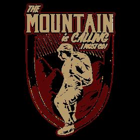 Mountain is calling - Der Berg ruft RAHMENLOS Geschenk Outdoor Sports 10 FS02