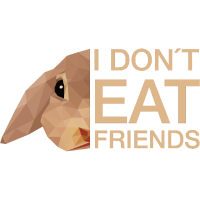 Hase I don't eat Friends