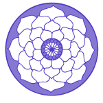 Mauve LotusFlower Mandala