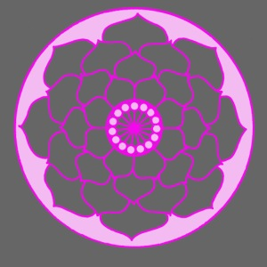 Pink Lotus Flower Mandala