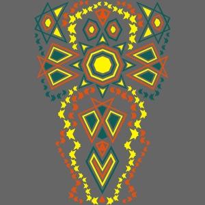 Tribal Sun Neon