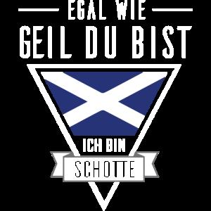 Ich bin Schotte - Schotten Shirt