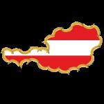 Österreich Umriss Bananenrepublik