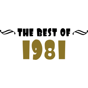 the best of - 1981