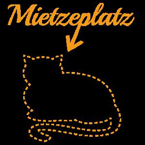 Miezeplatz orange