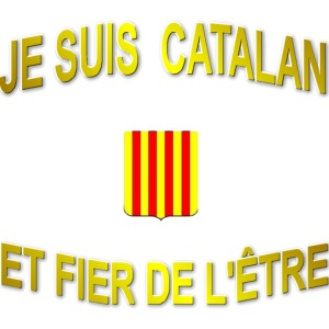 Tee-Shirt supporter du pays CATALAN