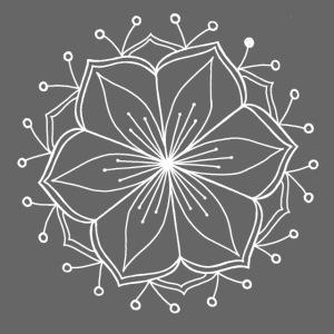 White Lotus Mandala