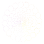 White Spectrum Mandala