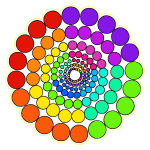 Rainbow2 Spectrum Mandala
