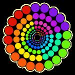 Rainbow2 Spectrum Mandala