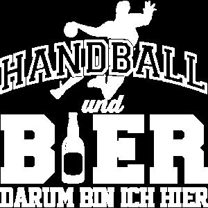 Handball und Bier