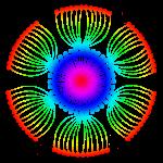 Rainbow PoppySeed Mandala