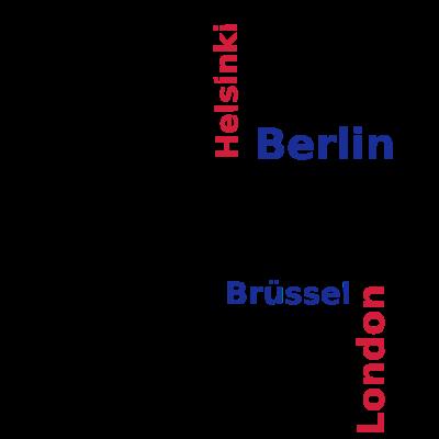 City_Europa_Lüneburg - Lüneburg in Europa - Rom,Paris,Madrid,Lüneburg,Londo,Lissabon,Brüssel,Berlin