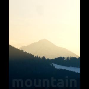 Berge Natur