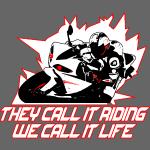 Motorrad Liebe