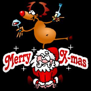 Merry X-mas - Fröhliche Weihnachten