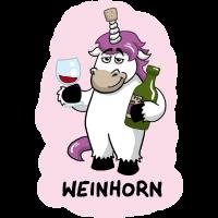Weinhorn Einhorn