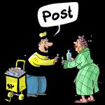 Post, Madame!