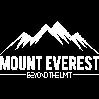 Mount Everest jenseits der Grenze