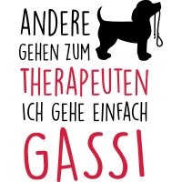 Gassi Therapeut Hund