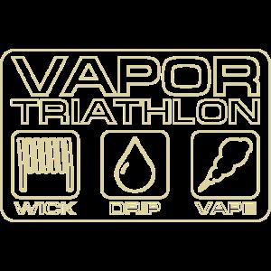 Vapor Triathlon Vape dampfen