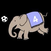 Elefant_spielt_Fußball_mit_Decke_DS
