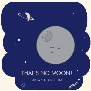 Mimas - Thats no moon