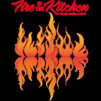 Fire Kitchen Schürze