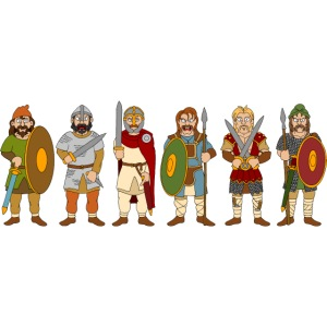 Late Anglo-Saxon Warriors