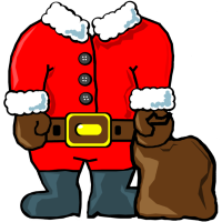 Weihnachtsmann (no head)