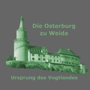Osterburg Weida Vogtland grün