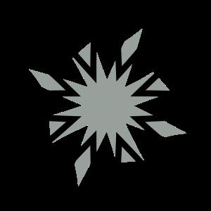 minimalistischer Stern