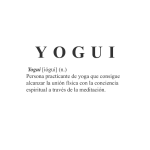 Yogi schwarzes T-Shirt
