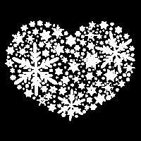 Schneeball Herz