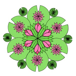 Lotus Pond Mandala