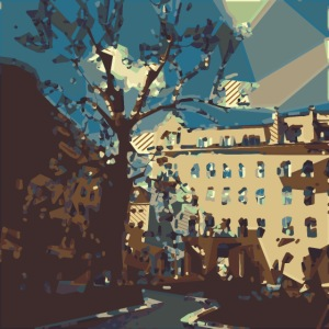 Abstrakt Budapest