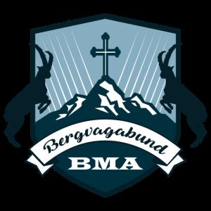 Bergvagabund Logo | Steinböcke am Gipfel