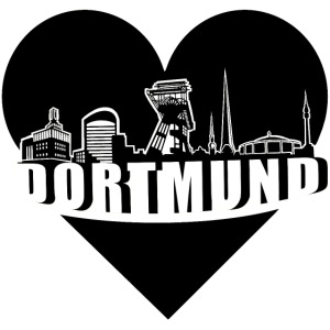 Dortmund Skyline in Love