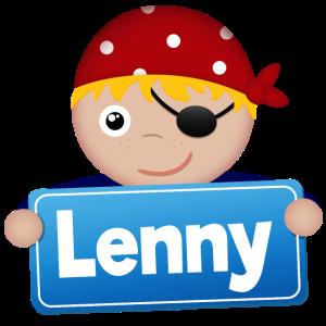 Kleiner Pirat Lenny