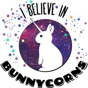 I believe in bunnycorns Einhorn Hasen Kaninchen