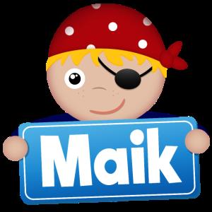 Kleiner Pirat Maik