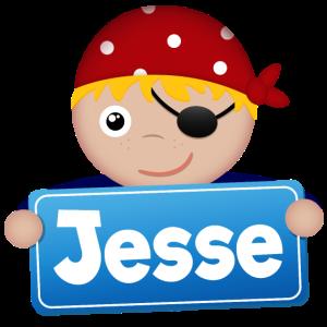Kleiner Pirat Jesse